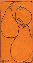 Block for 3 Pears print