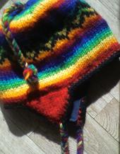 rainbow-hat